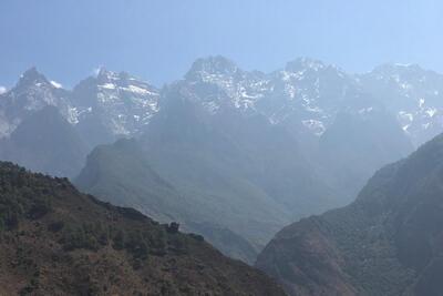 Circumambulating Haba Snow Mountain, part I