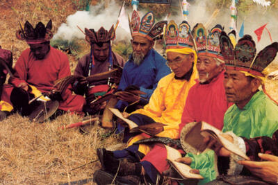 Exploring the cultural mélange of Naxi religion