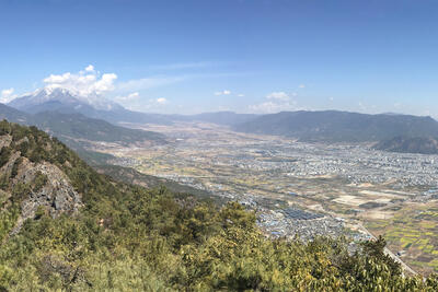 Hiking in Lijiang: Saddle Mountain