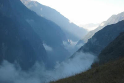 Getting Away: Trailrunning Tiger Leaping Gorge