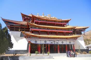 Zhamei Temple (Yongning Temple)