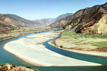 The First Bend of the Yangtze River